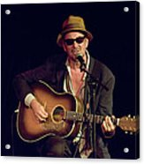 Folk Singer Greg Brown Acrylic Print