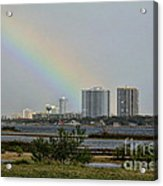 Follow That Rainbow Acrylic Print