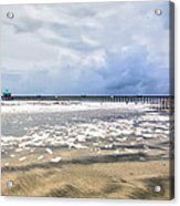 Folly Beach Acrylic Print