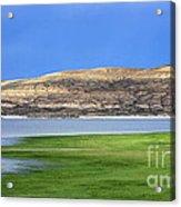 Fontenelle Reservoir Summer Thunderstorm  Acrylic Print