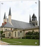 Fontevraud Abbey -  France Acrylic Print