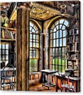 Fonthill Castle Office Acrylic Print