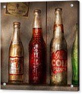 Food - Beverage - Favorite Soda Acrylic Print by Mike Savad