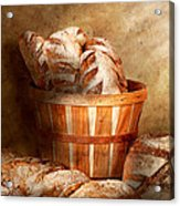 Food - Bread - Your Daily Bread Acrylic Print by Mike Savad