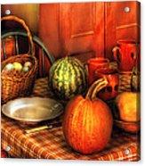 Food - Nature's Bounty Acrylic Print