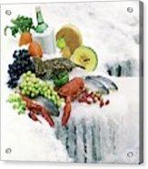 Food On Ice Acrylic Print