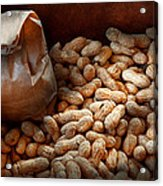 Food - Peanuts  Acrylic Print by Mike Savad