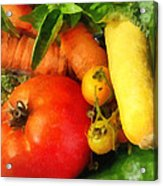 Food - Vegetable Medley Acrylic Print