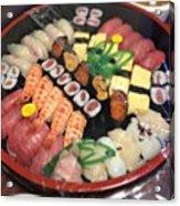 #food#sushi Acrylic Print