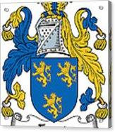 Foord Coat Of Arms Irish Acrylic Print
