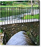Foot Bridge At Inistioge Acrylic Print
