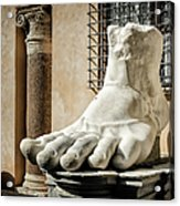 Foot Of Constantine Acrylic Print
