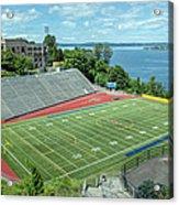 Football Field By The Bay Acrylic Print