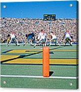 Football Game, University Of Michigan Acrylic Print