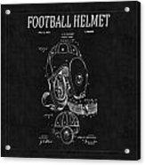 Football Helmet Patent 4 Acrylic Print