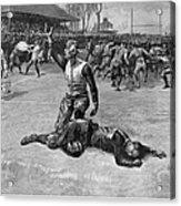Football Injury, 1891 Acrylic Print