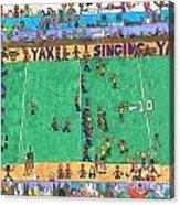 Football Acrylic Print