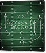 Football Play Acrylic Print