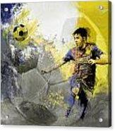 Football Player Acrylic Print