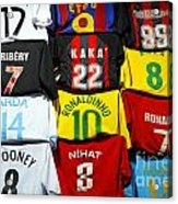 Football Shirts Inside The Grand Bazaar In Istanbul Turkey Acrylic Print