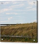 Footbridge Through The Dunes Acrylic Print