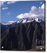 Foothill Of The Andes Acrylic Print