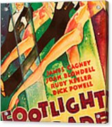 Footlight Parade, Dick Powell, Joan Acrylic Print