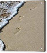 Footprints Acrylic Print