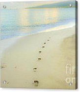 Footprints To Nowhere Acrylic Print