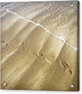 Footsteps Acrylic Print