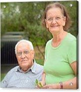 Foozi And His Wife Acrylic Print
