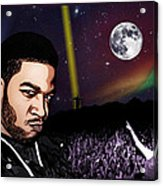 For Even In Hell - Kid Cudi Acrylic Print
