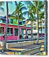 For Myers Beach Restaurant Acrylic Print