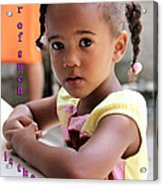 For Of Such... - Haitian Child 1 Acrylic Print