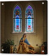 For Our Sins Acrylic Print