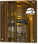 For Service Ring Bell Gct Acrylic Print