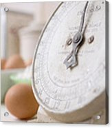 For The Baker Vintage Kitchen Scale  Acrylic Print
