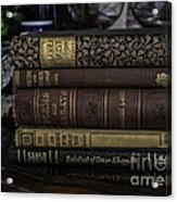 For The Love Of Reading Acrylic Print