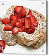 For The Love Of Strawberries Acrylic Print