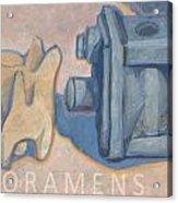 Foramens Acrylic Print