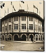 Forbes Field Pittsburgh 1909 Acrylic Print