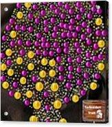Forbidden Fruit Pop Art Acrylic Print