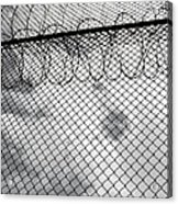 Forbidding Prison Fence Acrylic Print