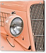 Ford Classic In Salmon Acrylic Print
