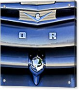 Ford F-1 V8 Truck Front End Acrylic Print