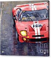 Ford Gt 40 24 Le Mans  Acrylic Print