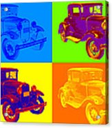 Ford Model A Roadster Pop Art Acrylic Print