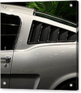 Ford Mustang Fastback 5d26841 Acrylic Print