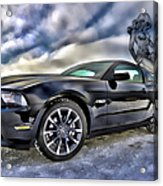 Ford Mustang - Featured In Vehicle Eenthusiast Group Acrylic Print