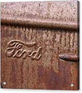 Ford Name Plate Acrylic Print